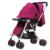 De lujo cochecitos de bebé plegable cochecito plegado recién nacido cochecito cochecitos cochecito puede sentarse o acostarse Alta bb púrpura