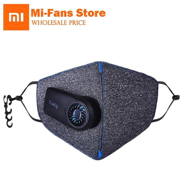 Xiaomi Puramente Anti-Inquinamento Dell'aria Sport Maschera con Filtro PM2.5 550 mAh Ricaricabile Struttura Tridimensionale Eccellente Purificare