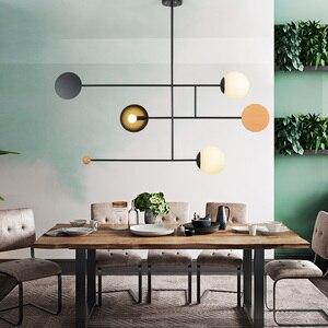 Image 5 - Artpad yaratıcı avize aydınlatma E14 tavan kutup asılı ışık yemek odası yatak odası oturma odası ev aydınlatma armatürleri