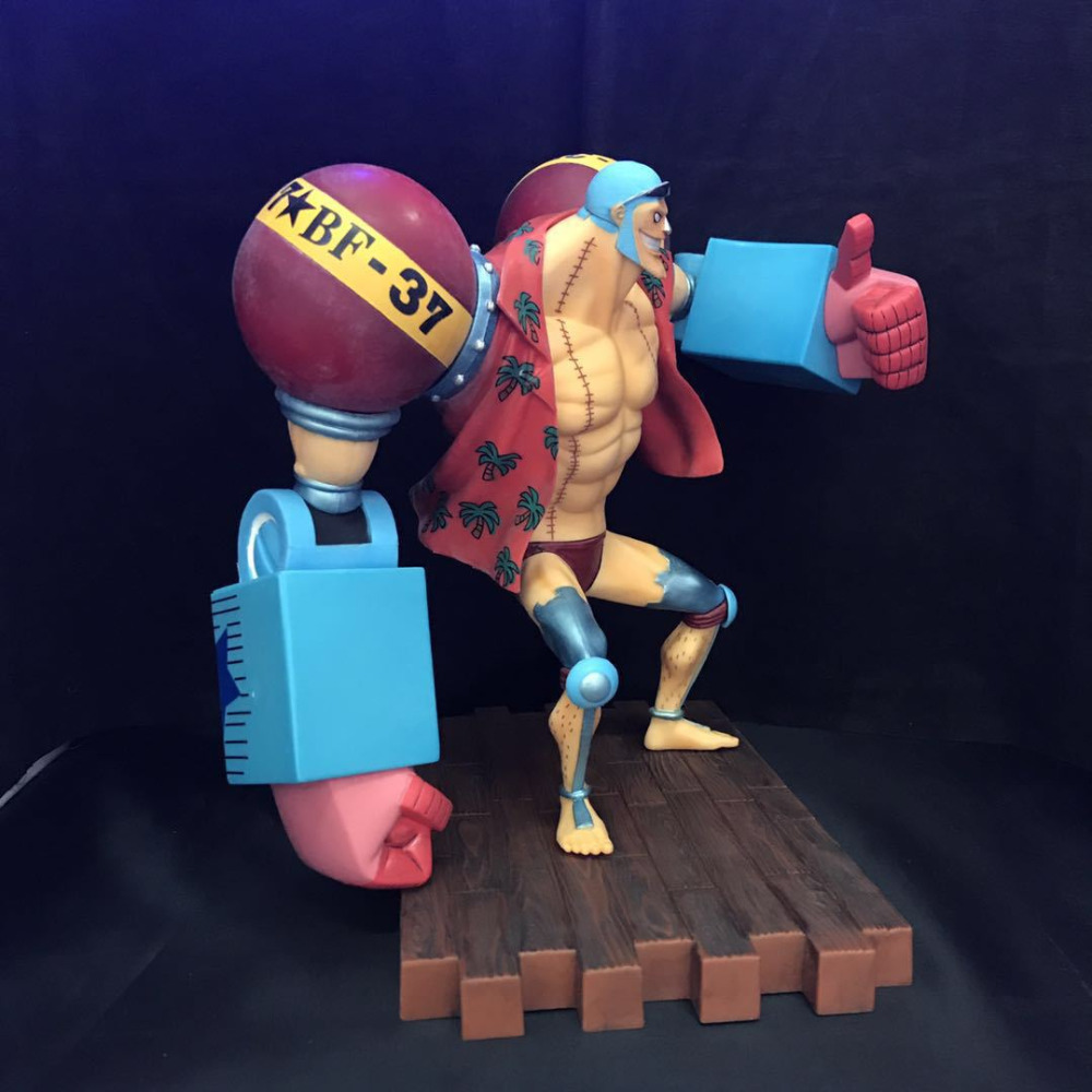 One Piece Franky Action Figure Second Ver. Romance Dawn Franky PVC figure Garage Kit Toy Anime 20CMOne Piece Franky Action Figure Second Ver. Romance Dawn Franky PVC figure Garage Kit Toy Anime 20CM