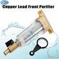 Фильтр для очистки воды  передний очиститель  медный свинец  предварительно фильтр для обратной промывки  удаление ржавых загрязнений  осад...