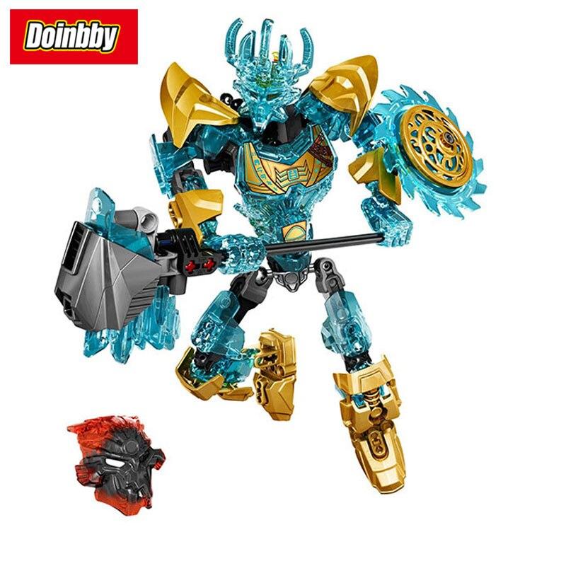 Bionicle 613-1 Ekimu o Fabricante da Máscara Bioquímica Fabricante Compatível com Legoings Bionicle Herói Guerreiro Building Block Brinquedos