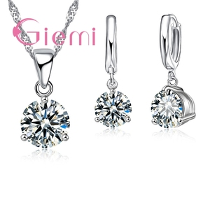8 Colors 925 Sterling Silver Wedding Ele