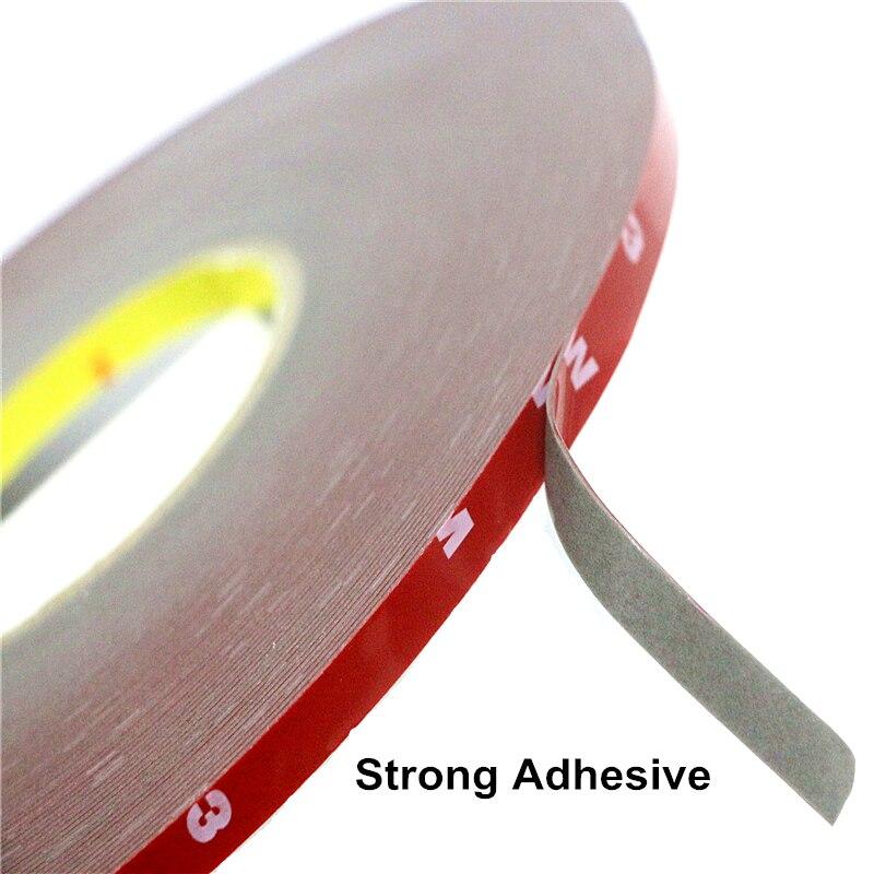 3 M Super fuerte cinta adhesiva de doble cara auto adhesivo 15 mm Coche Auto Nuevo