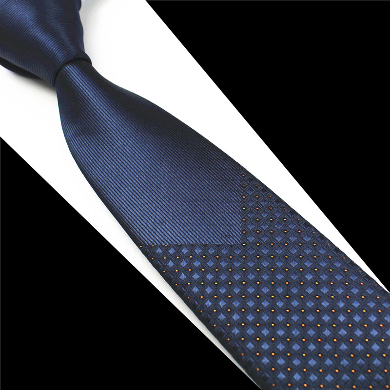 RBOCOTT Fashion Skinny Tie 6cm Silke Neck Slips For Men 16 Styles Of Handmade Slank Slips Blå Og Rød Herre Slips Til Bryllupsfest