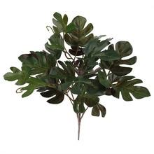 5 вилок искусственные растения зеленая трава пластиковые растения Настенные садовые украшения для дома искусственные цветы искусственные растения листья зеленое растение