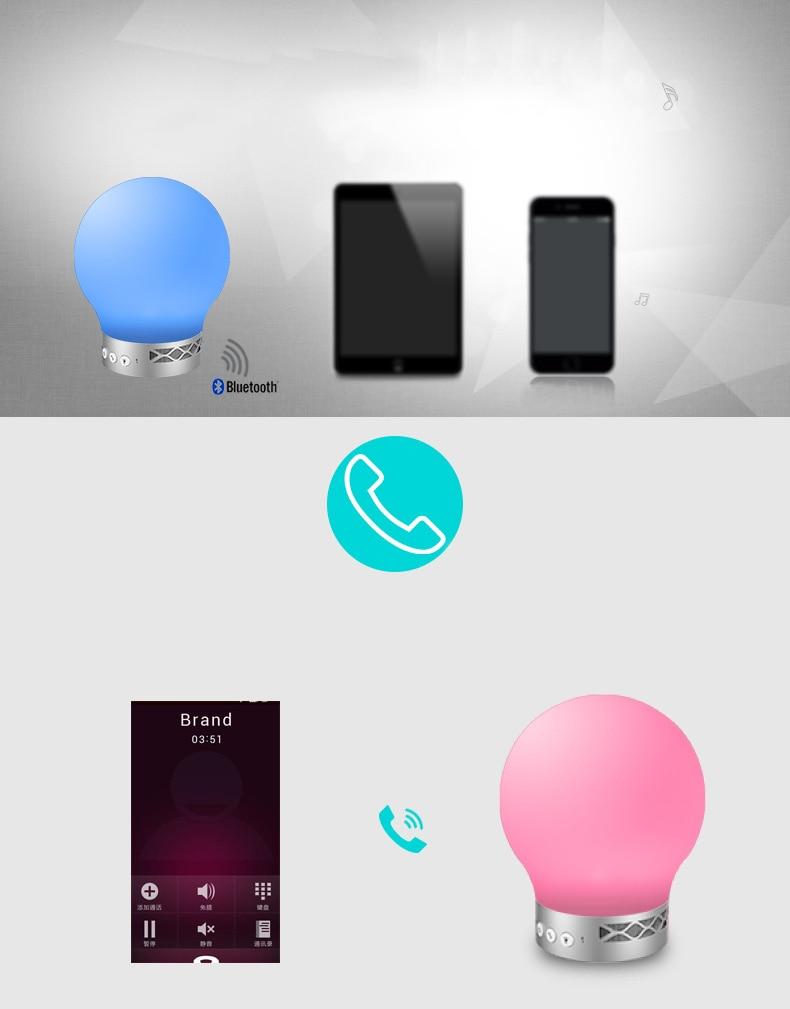 Envío libre Smart Tiger LED inalámbrico Bluetooth Altavoz manos ...
