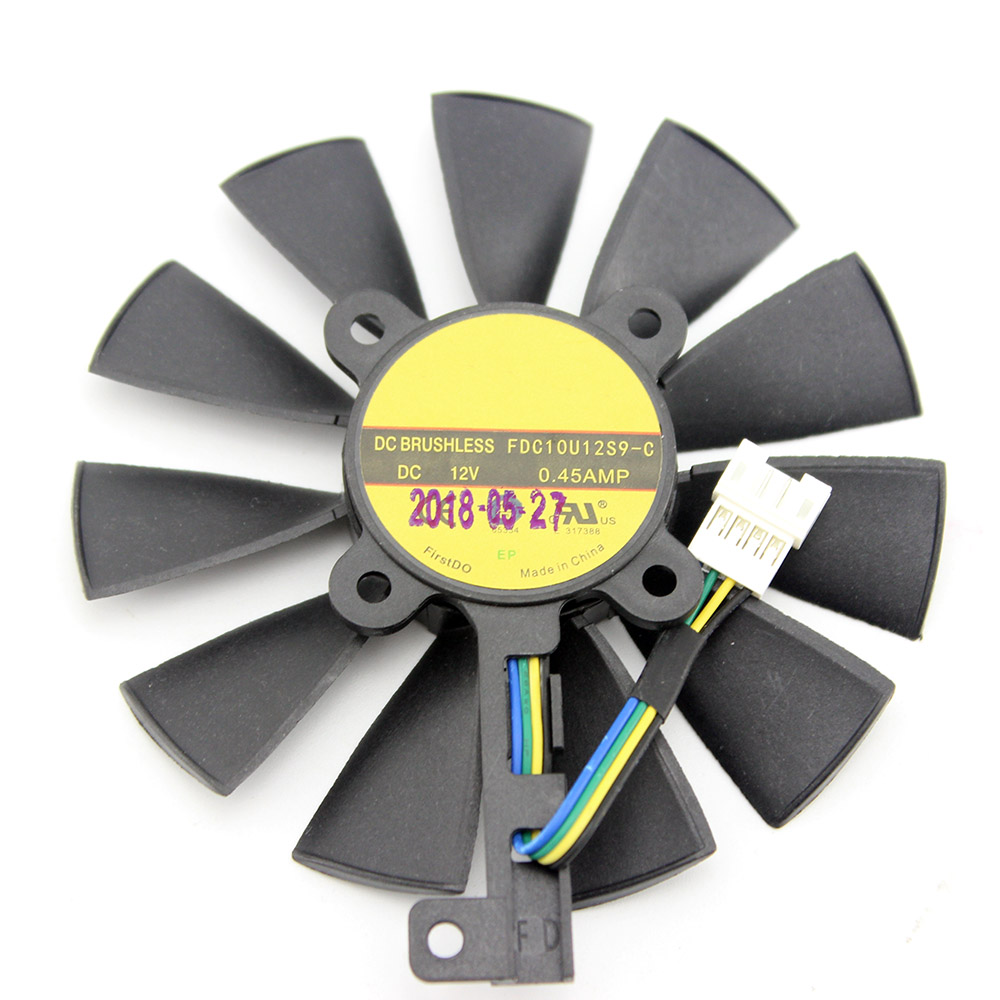 Cooling Fan For ASUS GTX 980 Ti R9 390X 390 GTX 1060 1070 1080 Ti RX 480 RX480