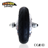 8 Inch 36v 350w Electric Wheelchair Motor Electric Brushless Gear Hub Motor Electric Wheelbarrow Tricycle Motor