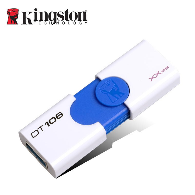 Kingston Creative Pendrive 16gb 32gb 64gb 128gb DT106 DIY Custom Usb Flash Drive Foodball Team Logo Pen Drive Cle Usb3.0 U Disk