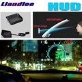 Liandlee HUD для Ford F-Series F150 F-150 250 GT Galaxy Mustang цифровой спидометр OBD2 Head Up дисплей большой монитор гоночный HUD