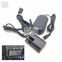 Camera AC Power Adapter Kit with Balance Display For Canon 7D 5D Mark II III IV 5DS 6D 7D 80D 70D 60D Replace ACK E6 LP E6