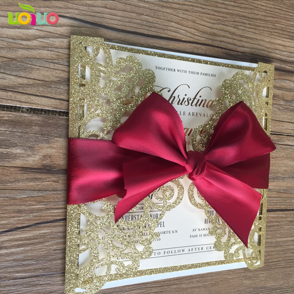 Luxury Gold And Blue Wedding Invitations Picture Collection ...