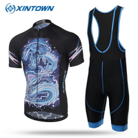 Sky Blue 2018 Pro Team Cycling Jersey Sets Short Sleeve Men Outdoor MTB Bicycle Clothes Riding Sportwear Ropa Ciclismo Bike Wear