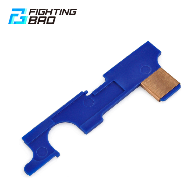 FightingBro Reinforcement Selector Plate For Airsoft AEG Version 2 M4 Gearbox Paintball Accessories Air Guns Hunting Outdoor