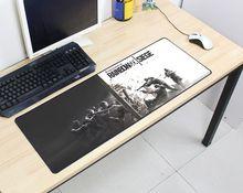 Rainbow Six осада коврик 800x300x2 мм для мыши компьютер коврик для мыши Лидер продаж игровой padmouse геймер к клавиатура коврики для мыши