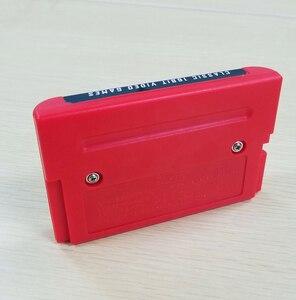 Image 2 - 2G קיבולת סוללה לחסוך 218 ב 1 משחק כרטיס עבור Sega Megadrive בראשית עם הניצוץ חיל השני Langrisser השני סוניק הקיפוד 3