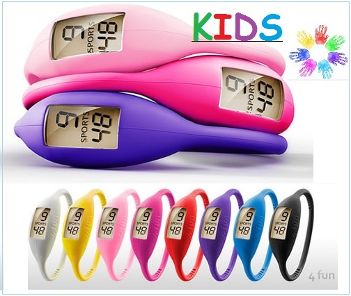 10 pcs Ion Watches Silicone Children KIDS watch colors Silicon Jelly Rubber Teen