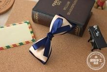 High Quality hair accessories blue ribbon hairclip fashion hair bow Bowknot  Barrettes woman,Min. order is $15(mix order)