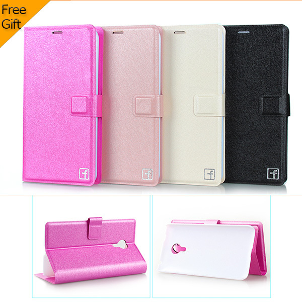 High quality meizu mx4 case Wallet flip leather case for Meizu mx4 mx 4 Phone cover case with card slots free shipping