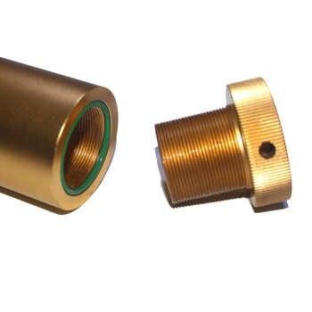 اليد مضخة PCP ضاغط الهواء فاصل مياه زيتية تصفية 30 mpa 4500psi 310bar L350mm * OD49mm