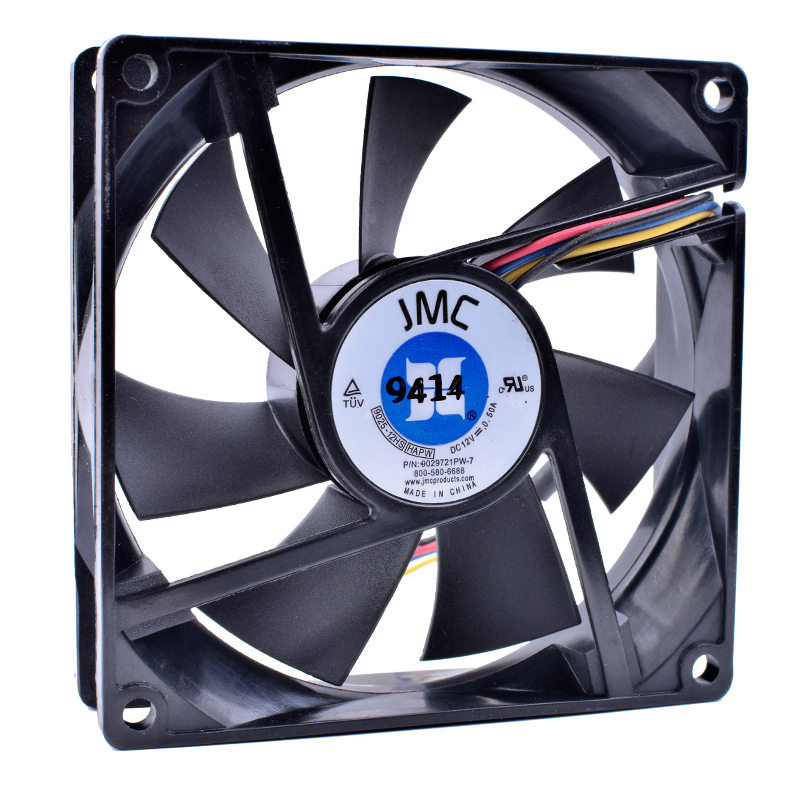 COOLING REVOLUTION 9025-12HS HAPW 9cm 90mm fan 92mm 9025 9225 12V 0.50A 4-pin pwm computer cpu cooling fans цена