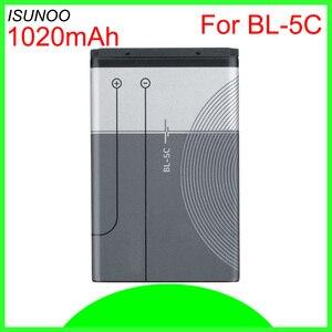 Аккумулятор ISUNOO для Nokia, аккумулятор для Nokia 6600, 6230, 5130, 2310, 6030, 3120, 3650, 6263, 7610, 7600, 6820,