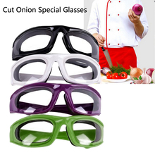 Kitchen Onion Goggles Tear Free Slicing Cutting Chopping Mincing Eye Protect Glasses