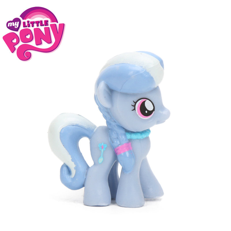 1pcs My Little Pony Toys Mini Pony PVC Action Figures Discord Rainbow Dash Twilight Sparkle Spike Pinkie Pie DJ Pon-3 Dolls Toy