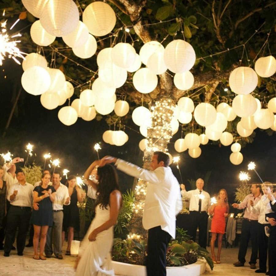 "5 pcs 14/"" inch Chinese Paper Lantern Wedding Party Event Decoratio bt White"