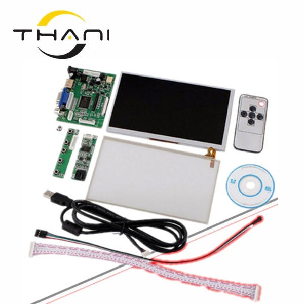 все цены на for INNOLUX 7 inch Raspberry Pi LCD Touch Screen Display TFT Monitor AT070TN92 with Touch screen Kit HDMI VGA Input Driver Board