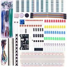 Модернизированный Комплект Электроники Модуля Питания, Перемычку, прецизионный Потенциометр, 830 галстуков точки Макет для Arduino
