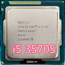 Intel Core i5-3570S I5 3570S Processor  6M Cache, 3.1GHz  LGA1155 Desktop CPU