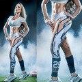 Hot girl body trainer леггинсы 3D печати 29 мода дышащая брюки прикладом лифт бейсбол детские леггинсы