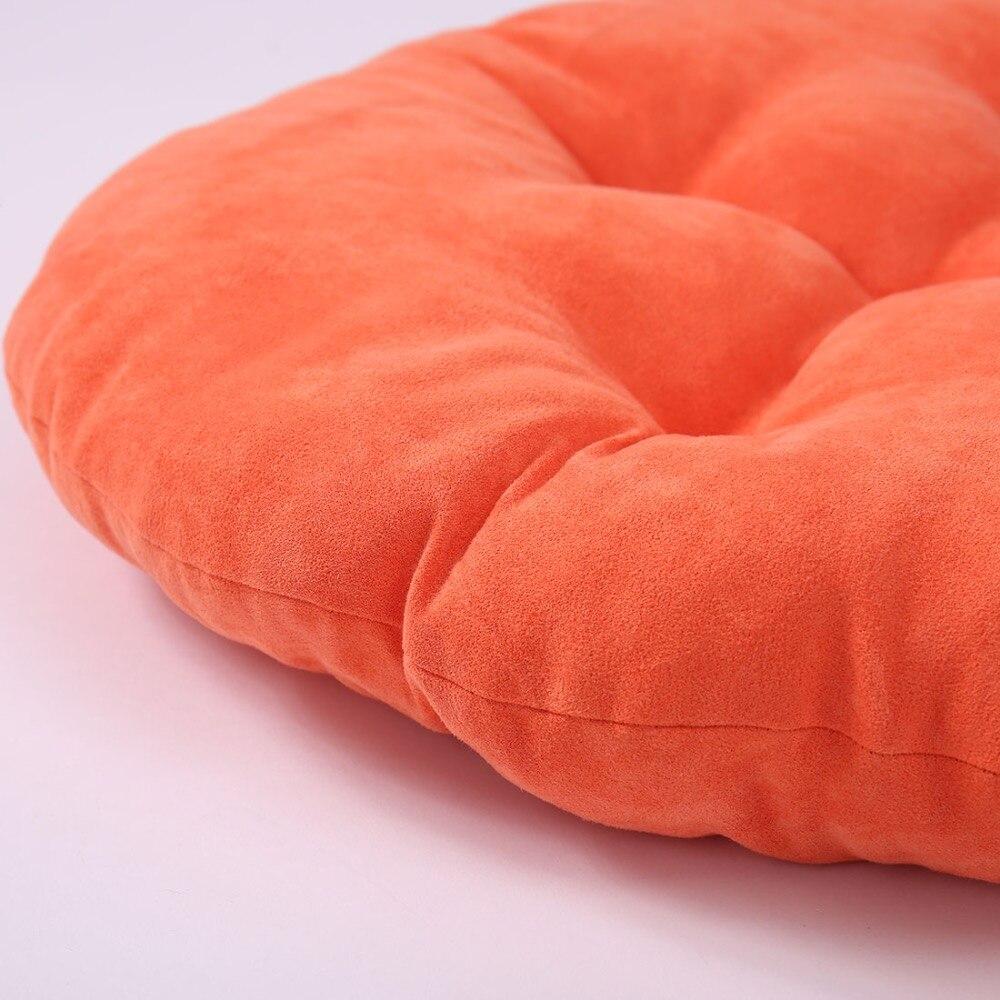 Sewcrane Burgund Solid Color Lila Rosa Orange Samt Japanischen Sitz