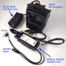 Экономичный MDB-R232 с BV20 купюроприемник для MDB развития комплекты/BV20 валидаторе плюс MDB к ПК адаптер