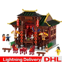XINGBAO 01020 Chinese Style Building The Chinese Theater Set Building Blocks Bricks Toys compare lepining building LP toys