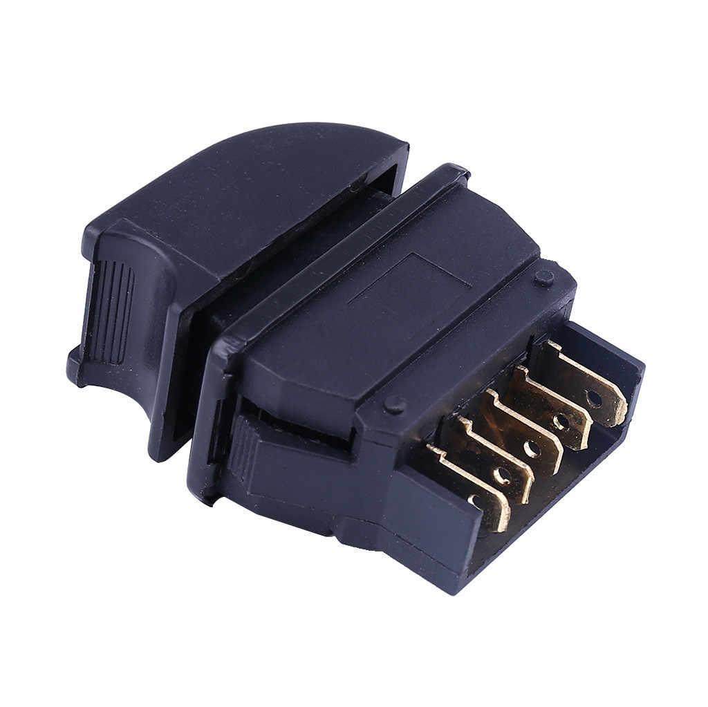 Interruptores y relés CARPRIE, nuevo, 5 pines, 12 V, potencia eléctrica para coche, controlador de botón de interruptor de elevación de cristal para ventana principal Jun19
