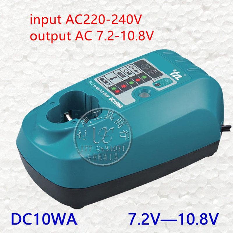 Charger DC10WA for Makita BL1013 7.2V 9.6V 10.8V Li-ion Battery DF030D DF330D DF030DWE TD090D CL104Z CL100DW CL100DWZ TD090DWECharger DC10WA for Makita BL1013 7.2V 9.6V 10.8V Li-ion Battery DF030D DF330D DF030DWE TD090D CL104Z CL100DW CL100DWZ TD090DWE