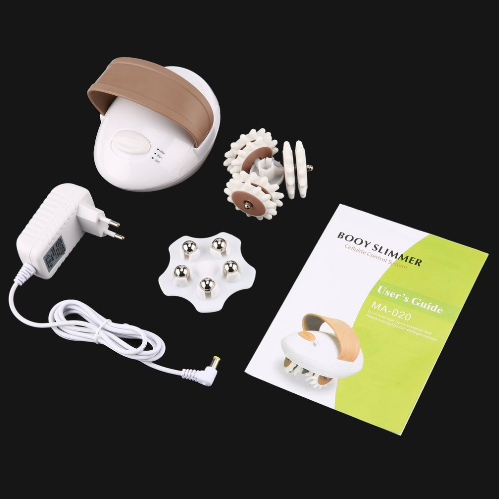 Electric 3D Full Body Massager Roller Powerful Anti Cellulite Face Body Slimming Burn Fat font b