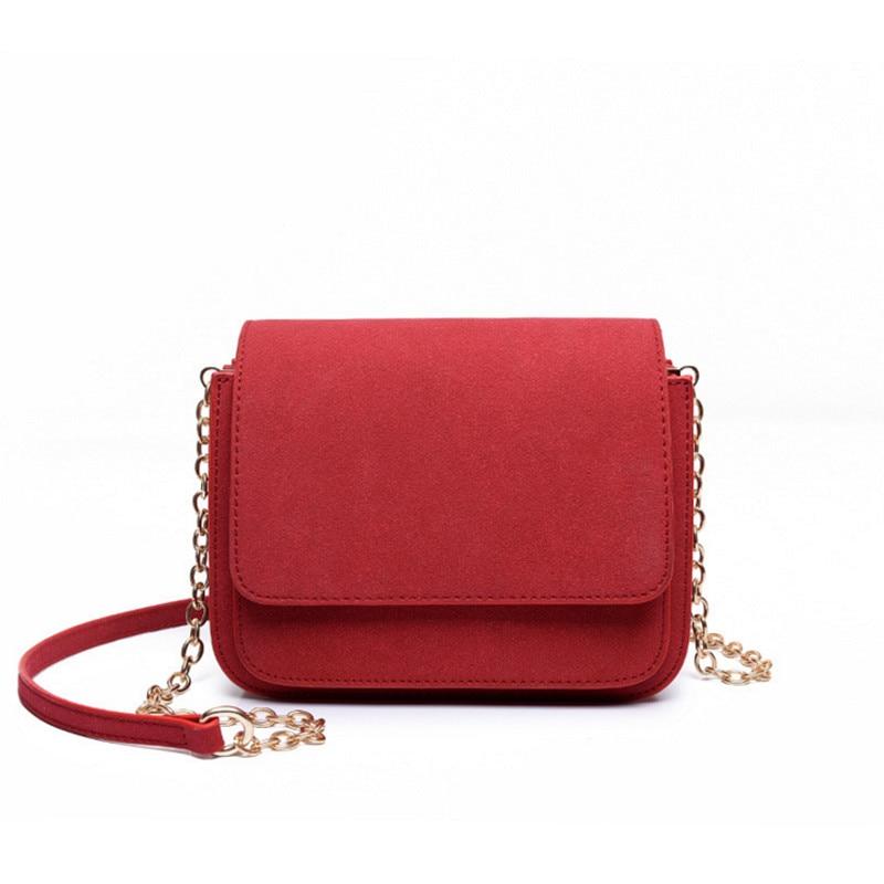 2017 New Designer brand bags women leather handbags Chain Solid Shoulder Bag mini bags Woman Messenger Bag purses red/black luxury handbags women chain messenger bag lipstick lock designer woman black