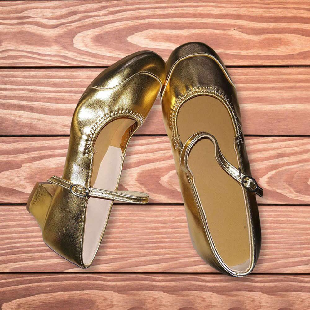 YOUYEDIAN frauen Weiche Sohlen Tragen Beständig Dance Schuhe Moderne Schuhe Schnalle Schuhe zapatos de tacon para mujer muy co # G40