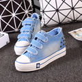 Free shipping in the spring and autumn canvas shoes cowboy shoes increased heavy-bottomed muffin shoes