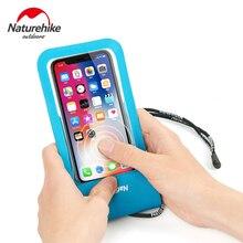 NatureHike Mobile Phone Pouch Storage Waterproof Bag Underwater Dry Case Cover For Canoe Kayak Rafting Drifting Swiming
