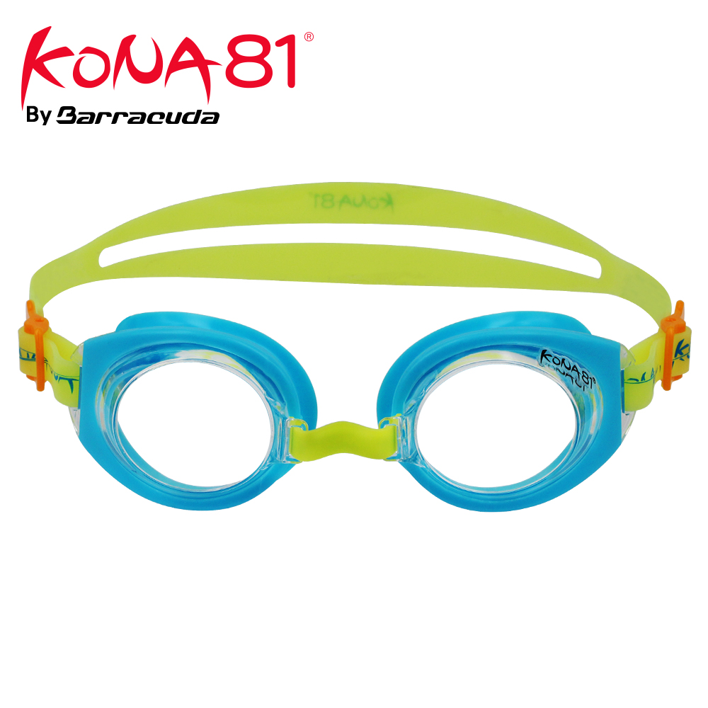 Barracuda KONA81 Junior Swim Goggle K712 Triathlon Adjustable Nose Piece UV Protection Easy adjusting for Children #71255
