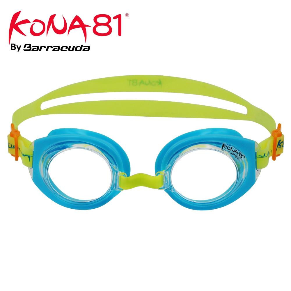 Barracuda KONA81 Junior Swim Goggle K712 Triathlon Adjustable Nose Piece UV Protection Easy adjusting for Children #71255