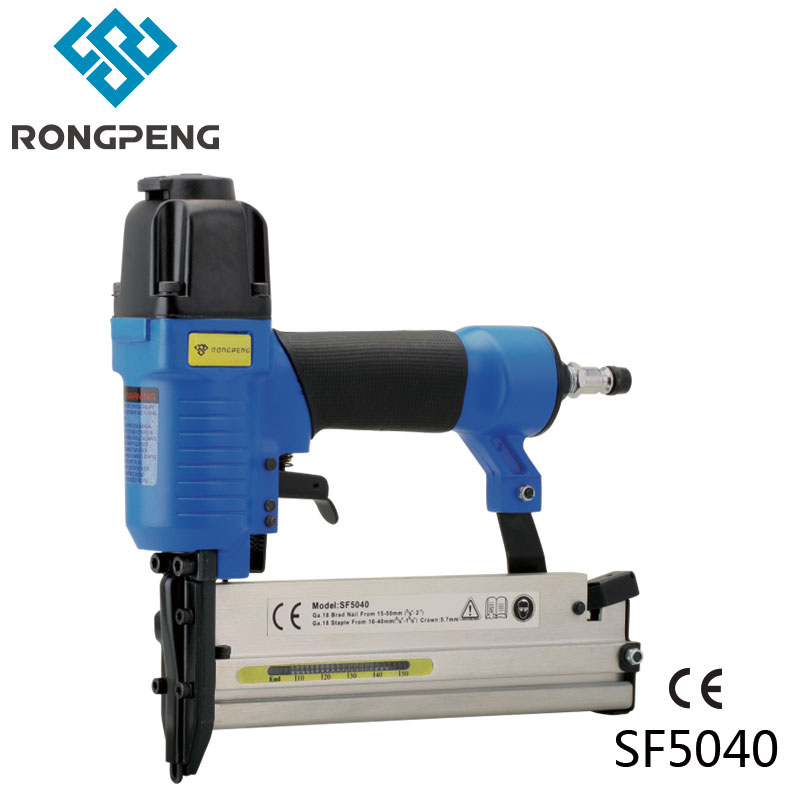 Rongpeng 2 in 1 Combination Air Nailer Stapler SF5040E 18-Guage - ابزار برقی
