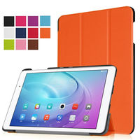 4W Slim Custer Folio PU Leather Case Flip Cover For Huawei MediaPad T2 10.0 Pro FDR-A01W FDR-A03L Tablet Case Stand Cover