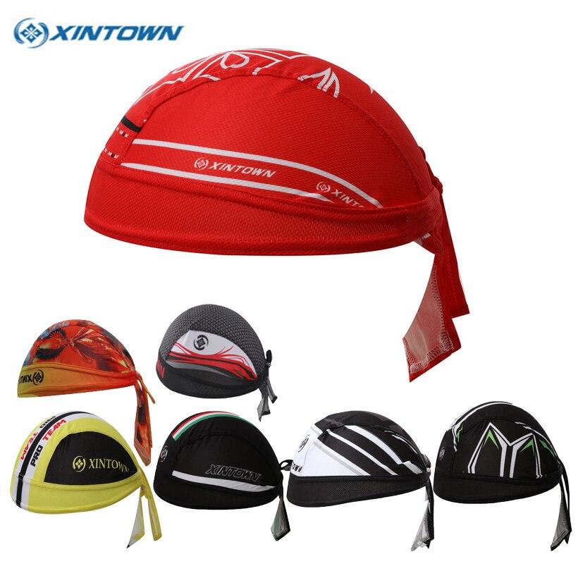 XINTOWN Brand Cycling Cap Scarfs Breathable Women Men Bike Scarf Bicycle Cap Hat Headscarf Bandana MTB Headband Head Scarf