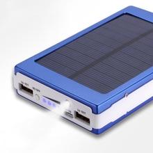 30000mAh High Capacity Solar Battery Portable Charger Dual O
